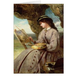 O amador justo, 1862 cartão