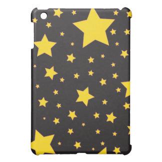 O amarelo stars o caso do iPad Capa Para iPad Mini