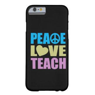 O amor da paz ensina capa iPhone 6 barely there