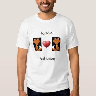 O amor do Fox, sensação aprecia Camisetas