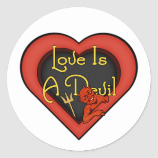 O amor é um diabo adesivo