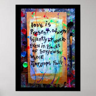 o amor está atual poster