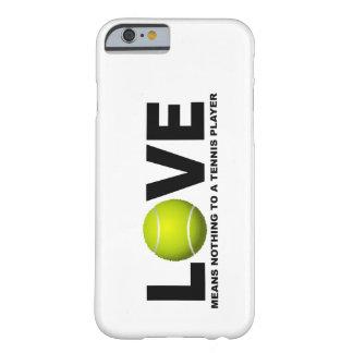 O amor não significa nada a um iPhone do jogador Capa Barely There Para iPhone 6