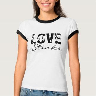 O amor tresanda ao t-shirt