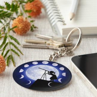 O anel chave do astrónomo chaveiro