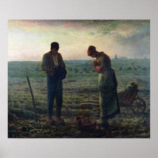 O Angelus, 1857-59 Posteres