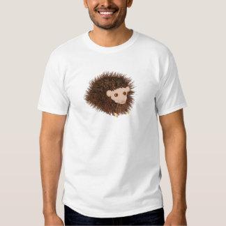 O aniversário bonito do ouriço adiciona o nome t-shirt