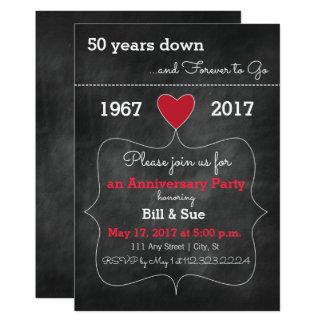 O aniversário do quadro convida o convite de