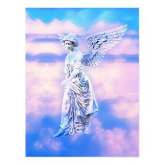 O anjo do céu cartao postal