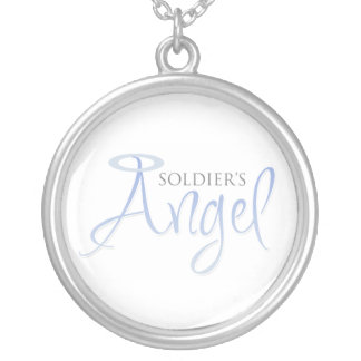 O anjo do soldado pingente