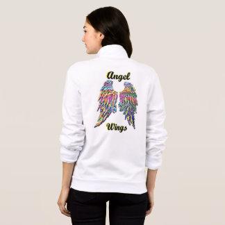 O anjo voa o basculador do velo jaquetas estampadas