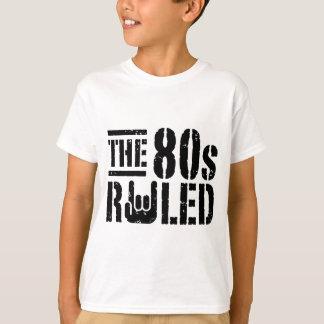 O anos 80 ordenado t-shirt