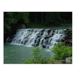 O antro do diabo, cachoeira de Arkansas Cartão Postal