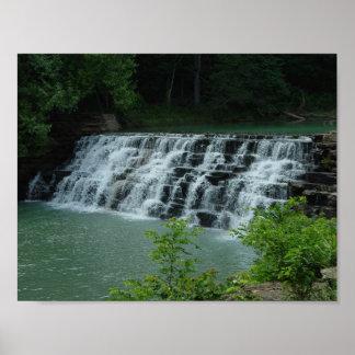 O antro do diabo, cachoeira de Arkansas Poster