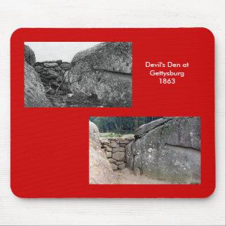 O antro do diabo, Gettysburg Mouse Pad