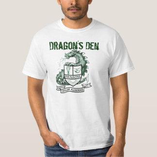 """O antro do dragão de Allderdice """"encontra-me no T-shirts"""
