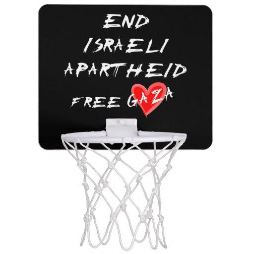 O Apartheid israelita do fim livra Gaza Cestas De Brinqueto Para Basquete