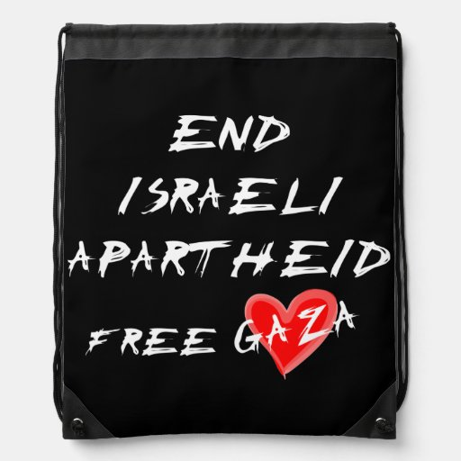 O Apartheid israelita do fim livra Gaza Mochila
