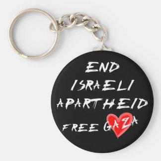 O Apartheid israelita do fim livra Gaza Chaveiro