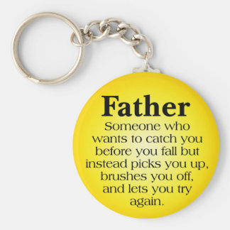 O apoio do pai chaveiro