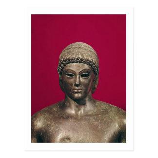 O Apollo de Piombino, cabeça da estátua, encontrou Cartão Postal