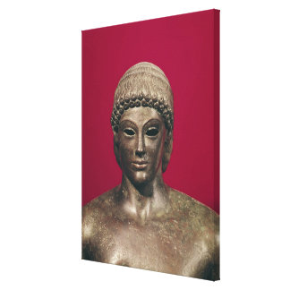 O Apollo de Piombino, cabeça da estátua, encontrou Impressão Em Tela
