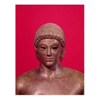 O Apollo de Piombino Cartão Postal