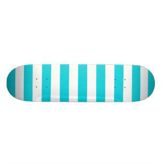 O Aqua listra o teste padrão Shape De Skate 18,1cm