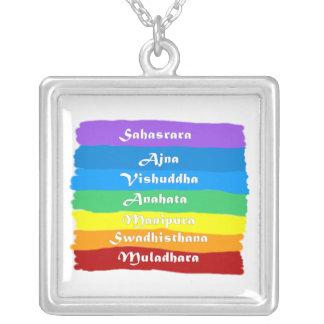 O arco-íris de Chakra Bijuteria