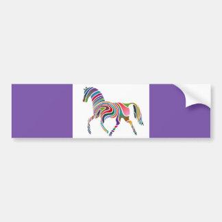 o arco-íris do cavalo dos DESENHOS ANIMADOS Adesivos