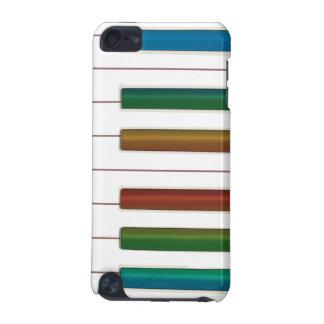 O arco-íris fecha a capa do ipod touch da música d