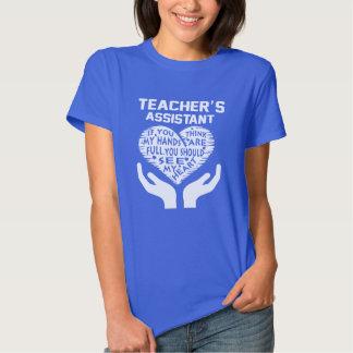O assistente do professor t-shirt