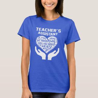 O assistente do professor t-shirts