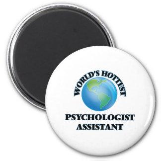 O assistente o mais quente do psicólogo do mundo imã de refrigerador
