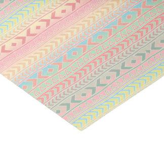 O asteca do divertimento influenciou cores Pastel Papel De Seda