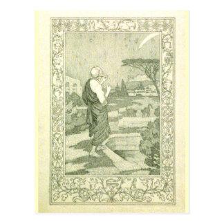 O astrónomo cartão postal