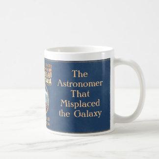 O astrónomo que colocou mal a galáxia caneca de café