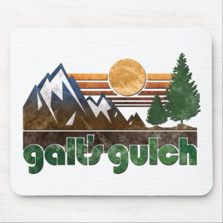 O atlas do Gulch de Galt Shrugged o tapete do rato Mouse Pad