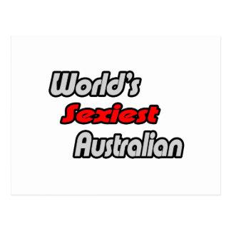 """O australiano o mais """"sexy"""" do mundo cartao postal"""