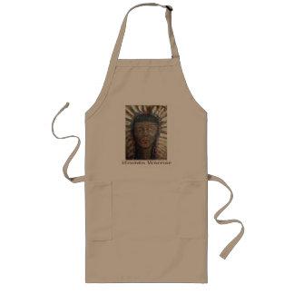 O avental do cozinheiro chefe principal do