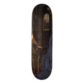 O aviso daqui até janeiro camionete Eyck Shape De Skate 18,7cm