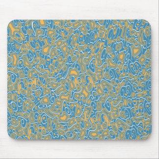 o azul abstrato acena o mousepad