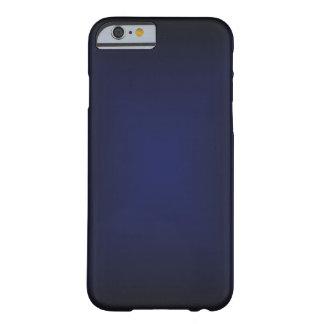 O azul desvanece-se caso do iPhone 6 mal lá Capa Barely There Para iPhone 6
