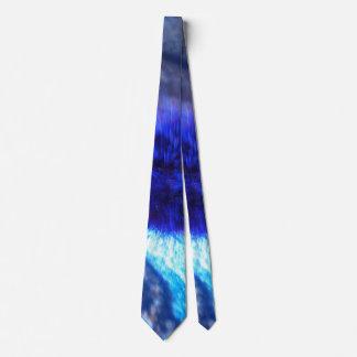 O azul desvanece-se laço dos homens gravata
