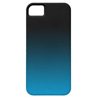 O azul desvanece-se preto das capas de iphone capa para iPhone 5