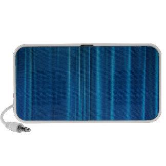 O azul drapeja caixinha de som para viagem