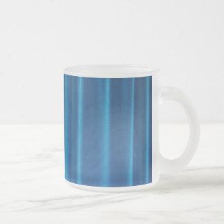 O azul drapeja