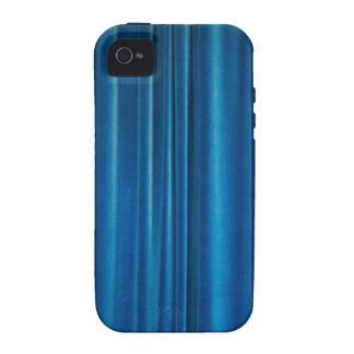 O azul drapeja o capa de iphone 4