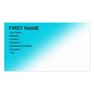 O azul simples desvanece-se cartões de visitas