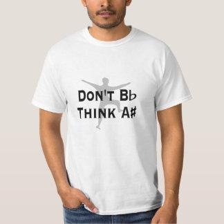 O baixo custo engraçado plano de B não pensa um T Tshirts